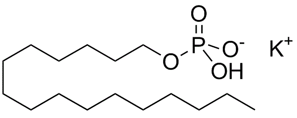 Chemical structure of Potassium Cetyl Phosphate