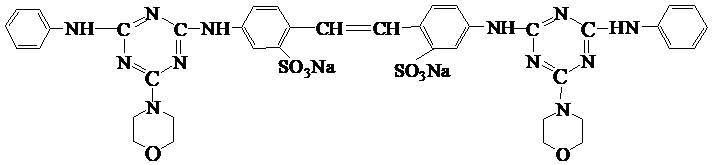Chemical Structure of Tinopal DMSx